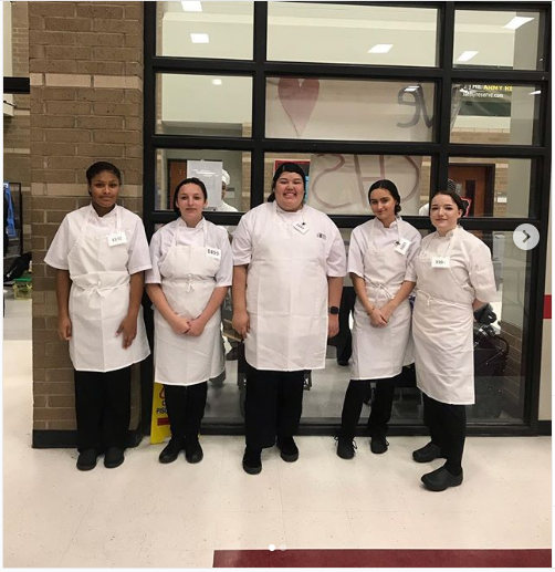 Skills USA Texas Regional Culinary Skills and Technical Commercial Baking competition 2019