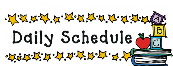 Daily Schedule – Chantel Munoz – Dewey Avenue Elementary