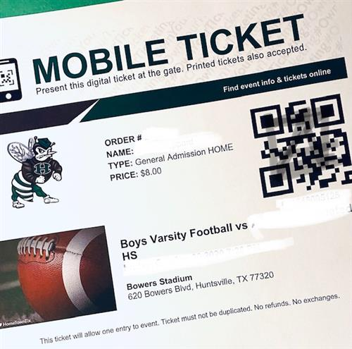 hhs digital ticket for athletics