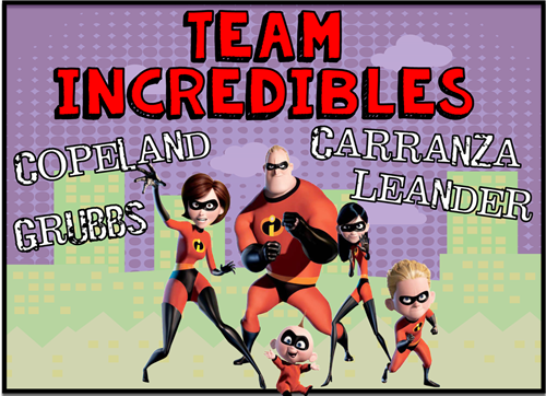 Incredibles newsletter