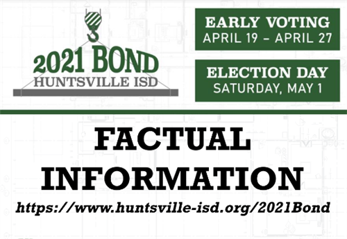 factual bond information for May 1 Election