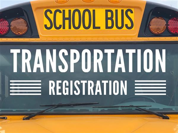 school bus registration is open for new school year