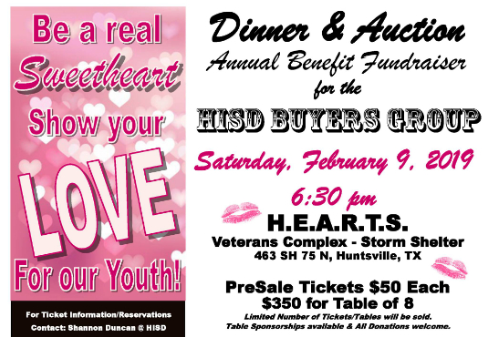 fundraiser dinner and auction event information
