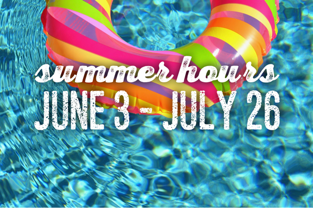 summer hours pool with float