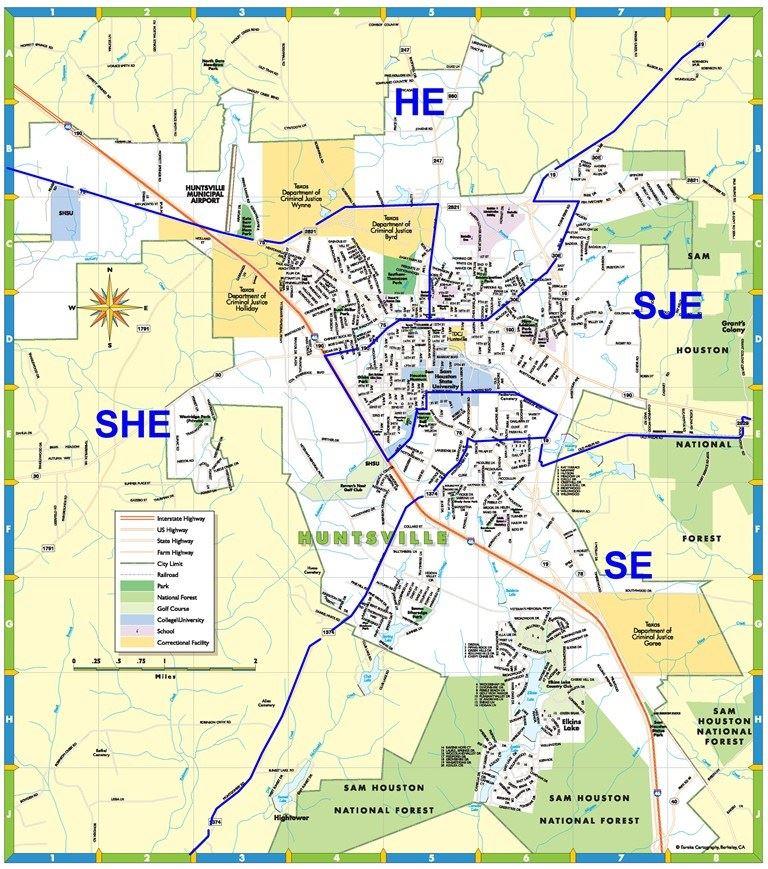 Transportation / Map of Elementary School Zones