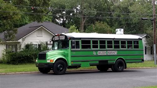 green hornet bus